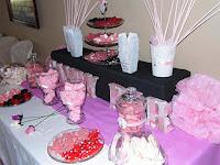 candy bar / mesa dulce realizada por dulzia massanassa