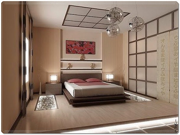 Oriental Main Bedroom Decorating
