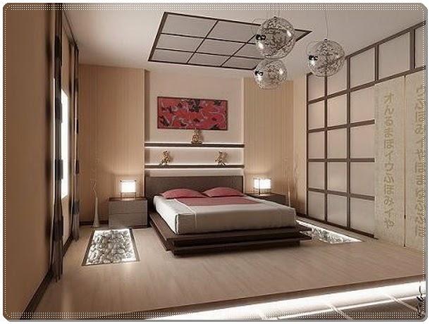 Oriental Main Bedroom Decorating