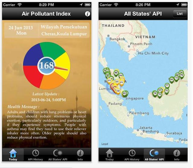 semak index IPU melalui smartphone