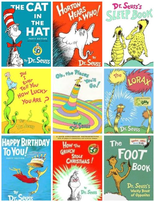 This is a graphic of Shocking Dr Seuss Book Cover Printables
