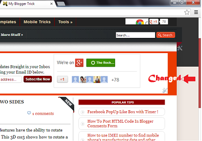 Change Scrollbar Color With CSS3 in Blogspot