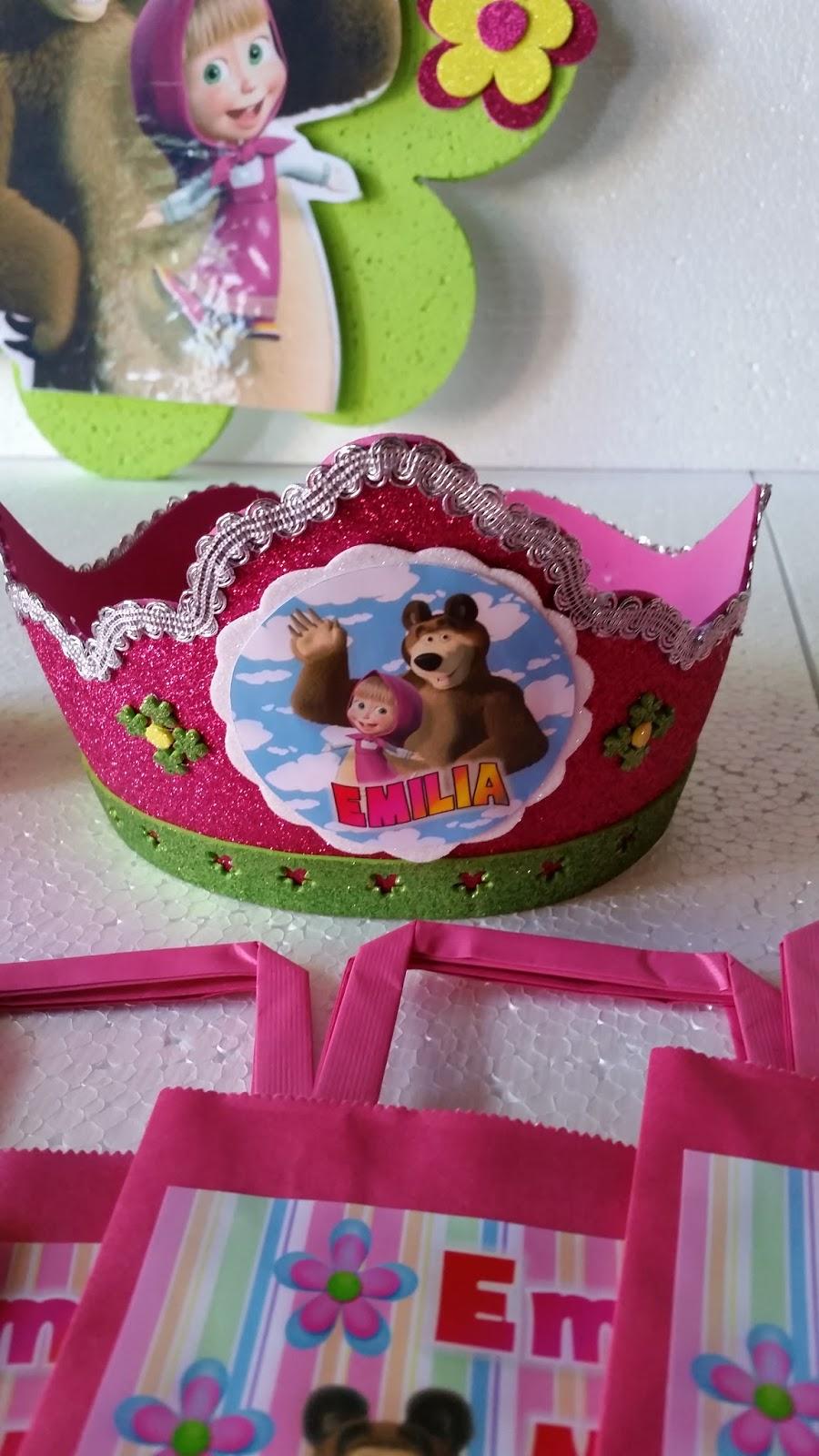 Decoraciones infantiles masha y el oso decoraciones for Decoraciones infantiles