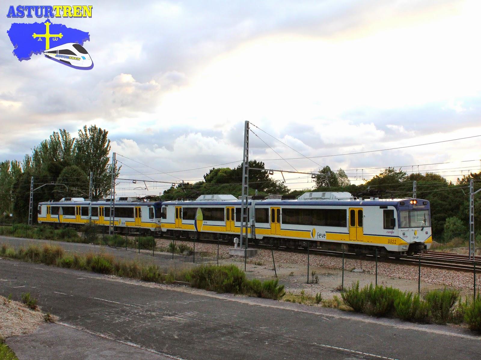 Asturtren renfe feve modifica horarios a partir de hoy for Horario de trenes feve