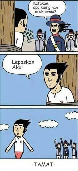 Komik Paling Singkat