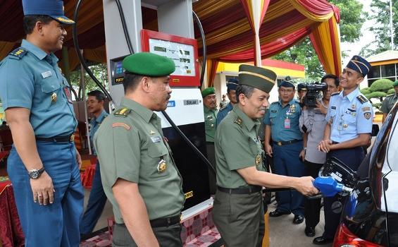 Ini Alasan Mengapa TNI Punya Sarana Pelayanan Bahan Bakar Sendiri