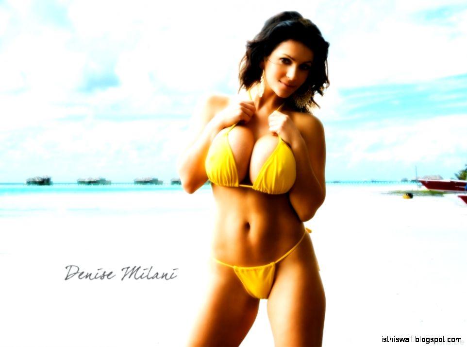 Denise Milani Wallpaper   HD Desktop Wallpapers for Widescreen
