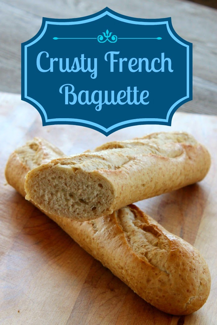 Crusty French Baguette, shared by The Wilderness Wife