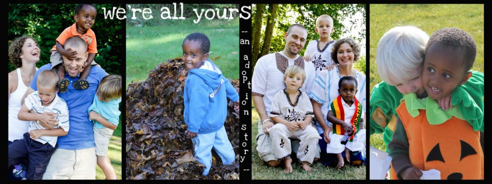 we're all yours: an adoption story