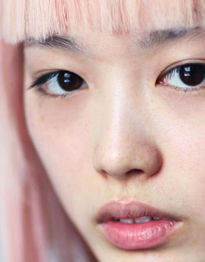 hair facial Pink