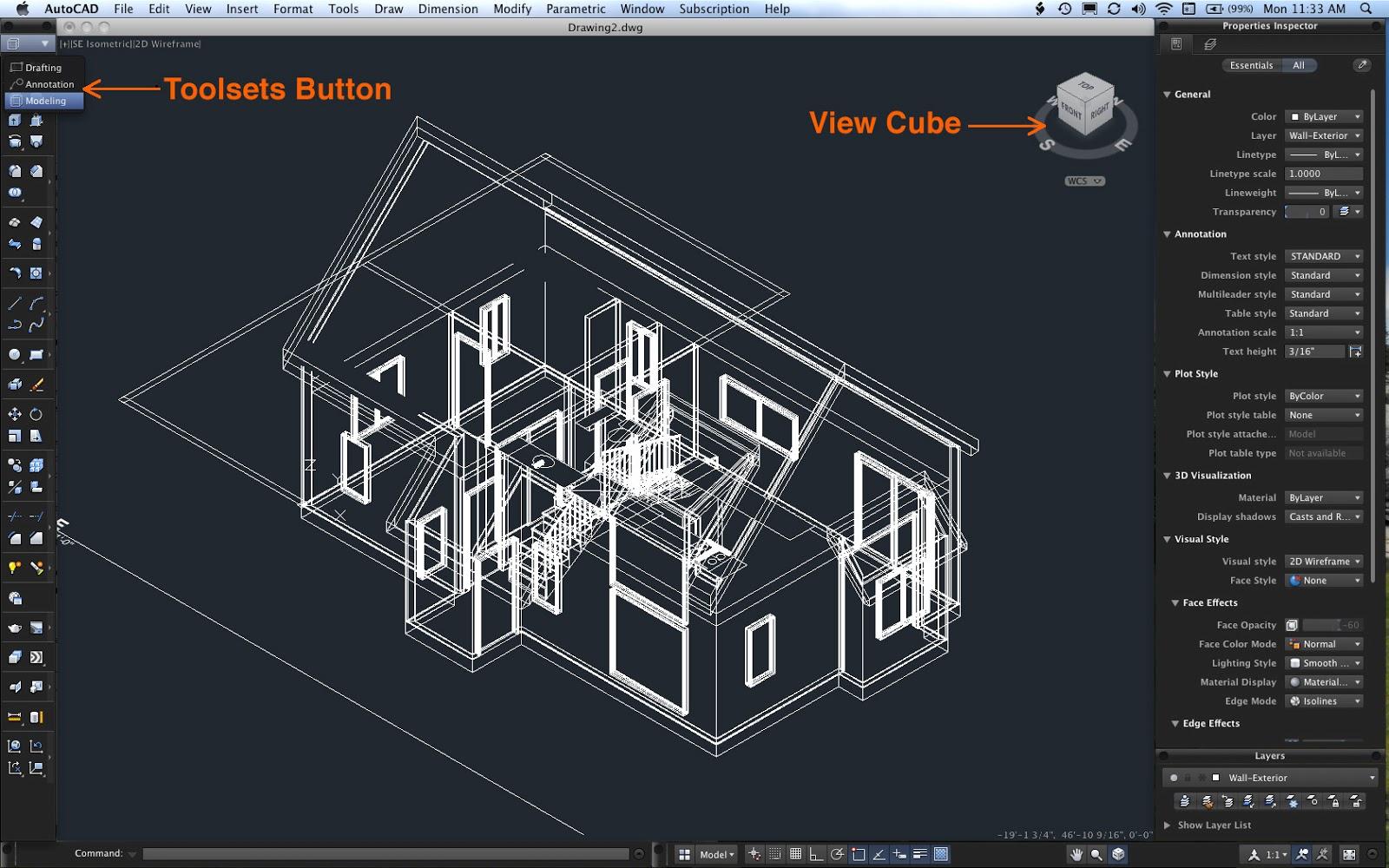 Cara Mendesain Rumah Minimalis Dengan Autocad - Desain Rumah Minimalis ...
