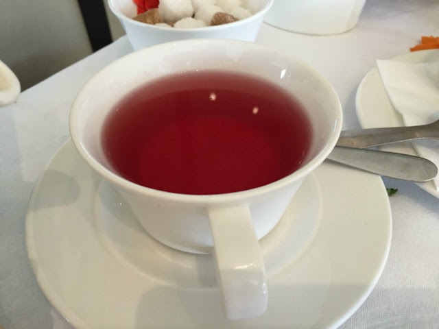 Raspberry tea