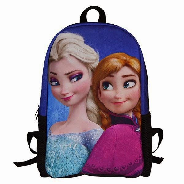 Gambar tas ransel elsa frozen gratis untuk anak