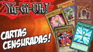 Cartas censuradas em Yu-Gi-Oh!