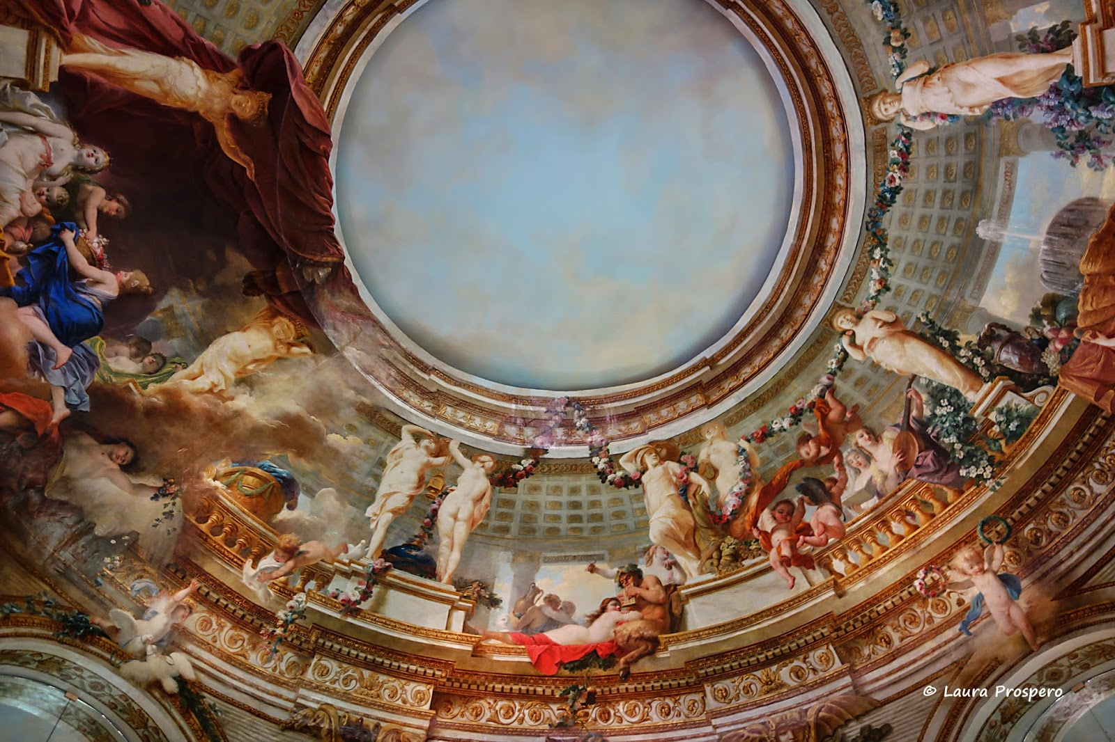 coupole d'Antoine François Callet - Musée du Louvre © Laura Prospero