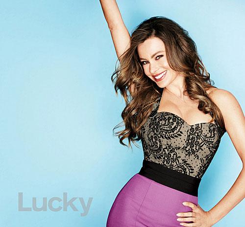 sofia vergara lucky magazine