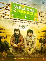 Watch Welcome to Karachi (2015) DVDRip Hindi Full Movie Watch Online Free Download