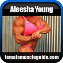Aleesha Young Female Bodybuilder Thumbnail Image 4