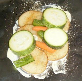 and zucchini