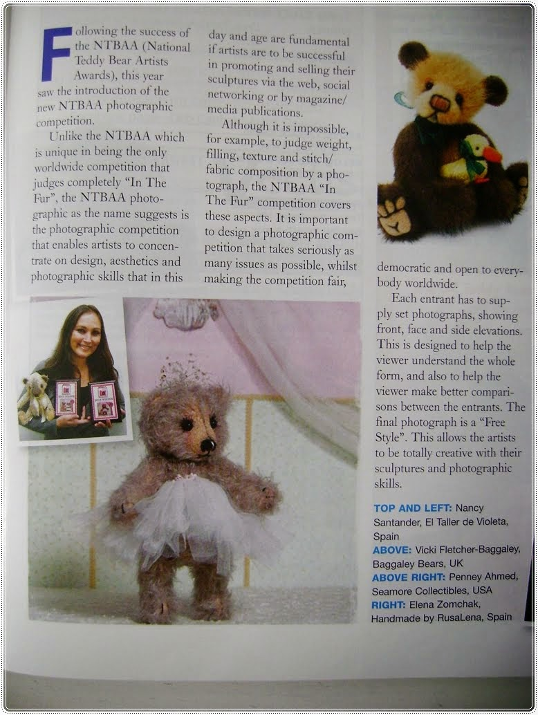 Revista Teddy Bears Times 2013
