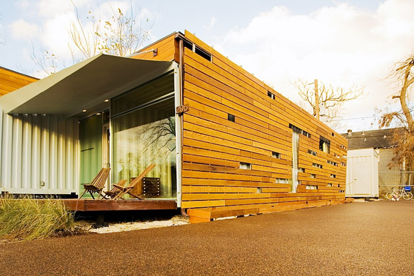 Build It Yourself!: Eco friendly shipping container studios
