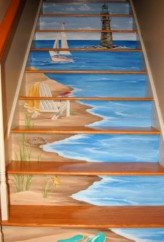 Which Artist Painted A Staircase Painting