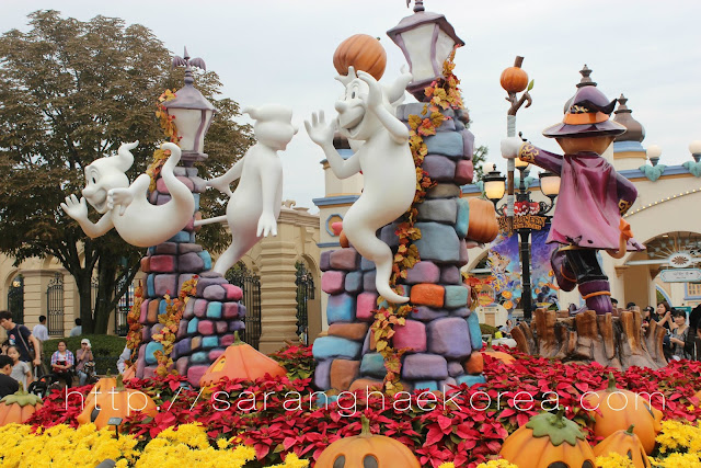Halloween Decoration at Everland