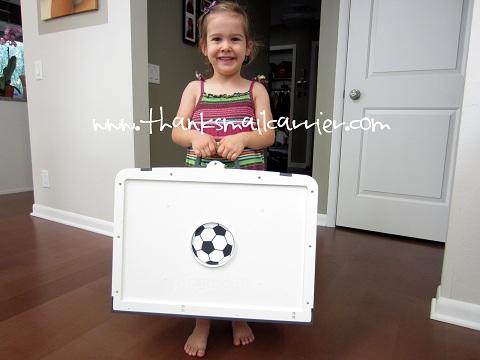 Playmobil portable soccer