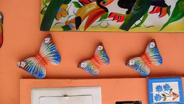 Trio borboletas