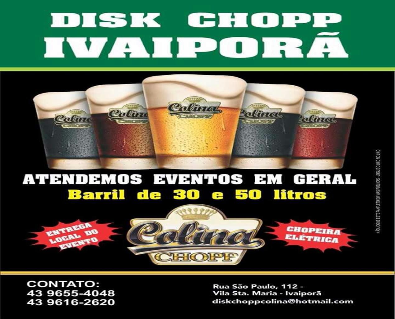 DISK CHOPP IVAIPORÃ E REGIÃO