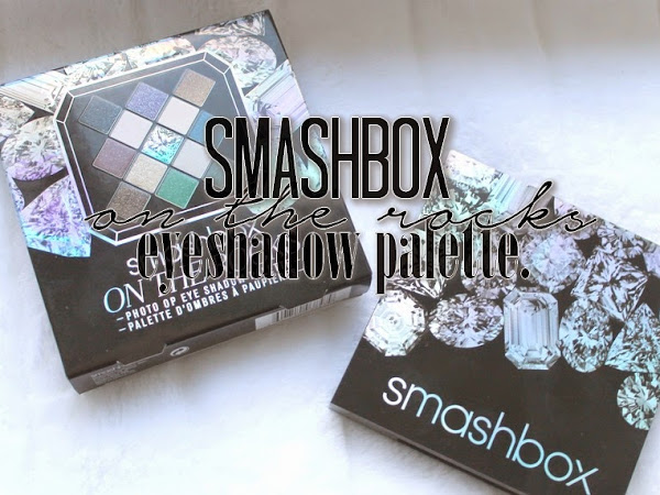 Smashbox On The Rocks Eyeshadow Palette.