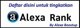 Tingkatkan Rank Alexa