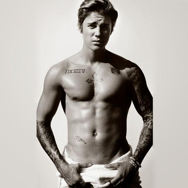 Nuevo topless de Justin Bieber