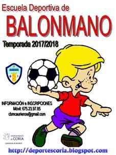 ESCUELA DE BALONMANO