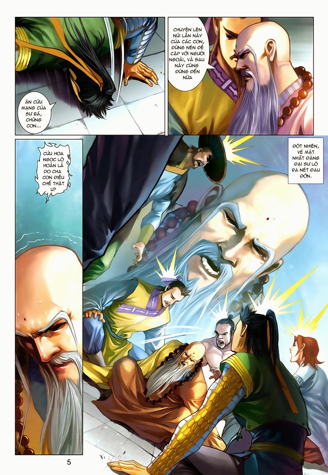 xem truyen moi - Anh Hùng Xạ Điêu - Chapter 74: Độc Kế