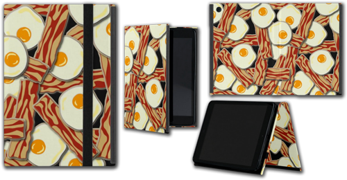 Bacon and Eggs Pattern iPad Mini Case