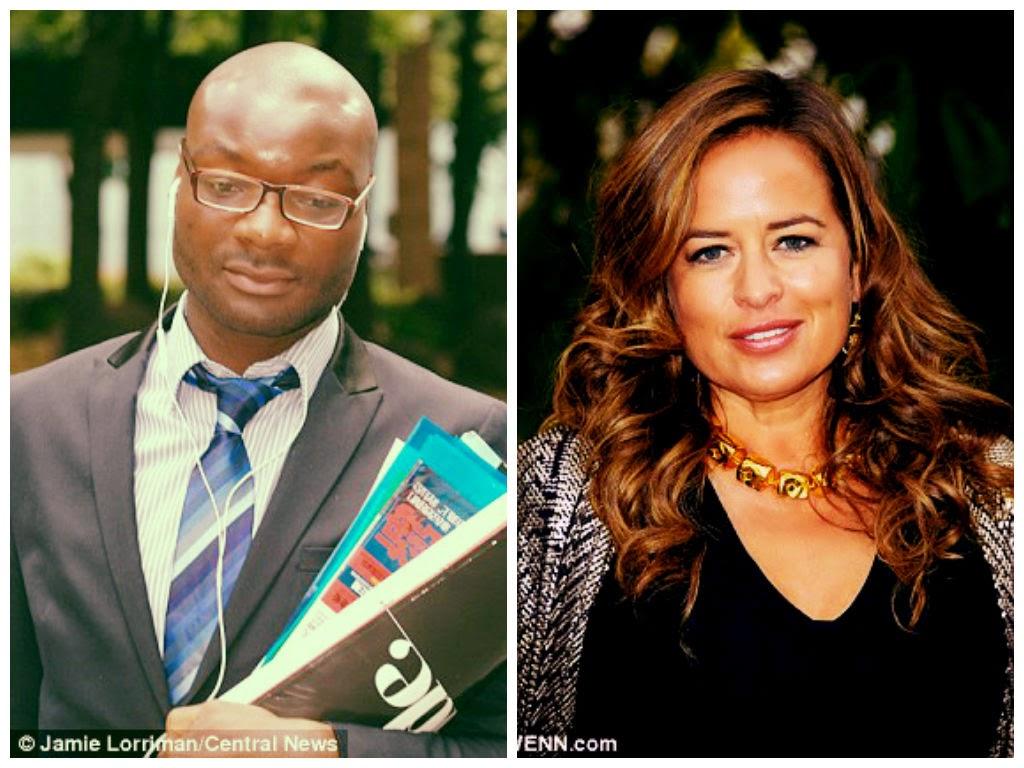 Charles' Adesanya and Jade Jagger