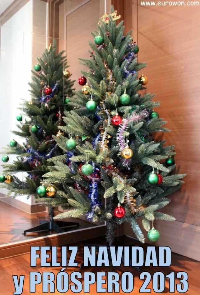Árbol de Navidad en Corea