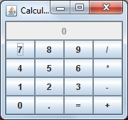 java program of calculator