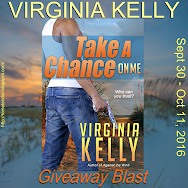 Virginia Kelly's TAKE A CHANCE ON ME Giveaway Blast