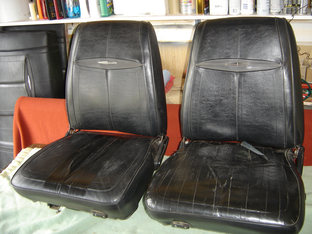 1968 Dodge Dart Bucket Seat & Rear Seat Restoration