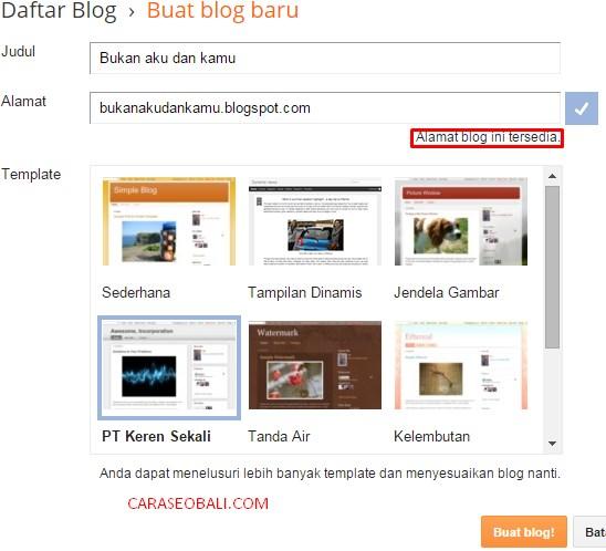 daftar blog indonesia