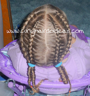 Toddler Hairstyle that lasts!