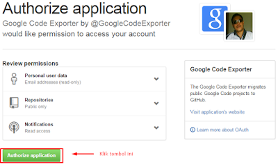Authorize Application