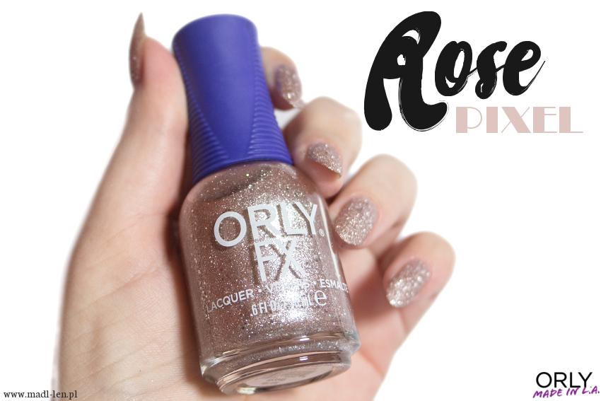 ORLY FX - ROSE PIXEL z kolekcji Mega Pixel FX