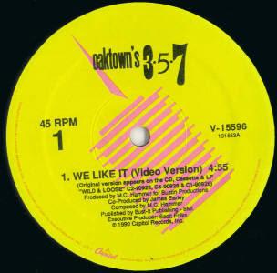 Oaktown's 3-5-7 – We Like It (VLS) (1990) (320 kbps)