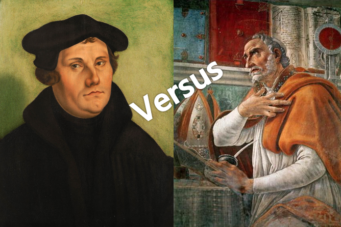 Beware, There Exists A Deep Gulf Between The Teachings of Augustine And Luther On Justification