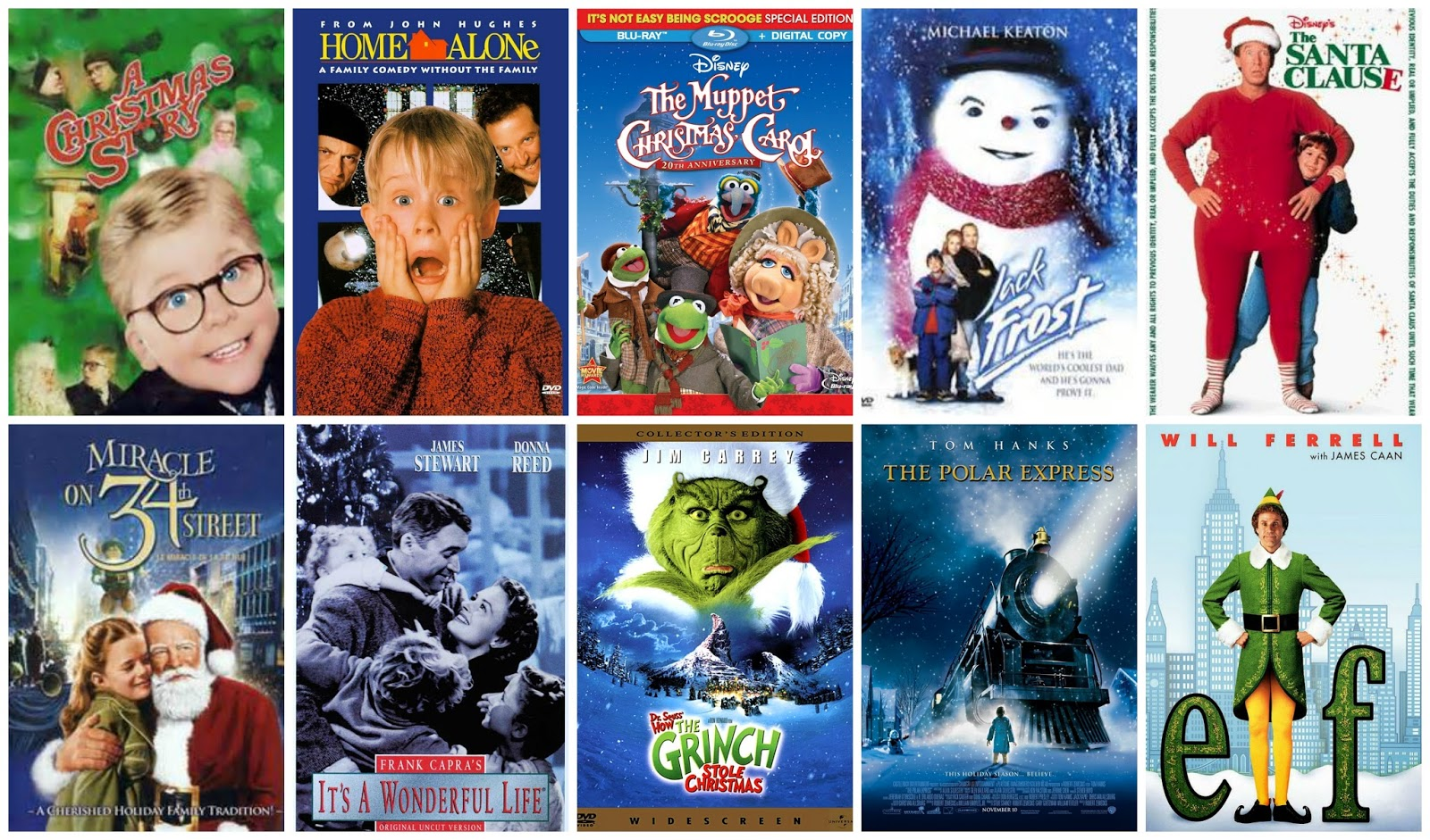 Popular Most Top Christmas Movies 10