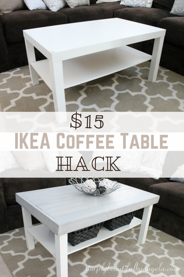 ikea lack coffee table hack. Black Bedroom Furniture Sets. Home Design Ideas