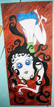 Original Painting of Windy from No Legs    10 x 23